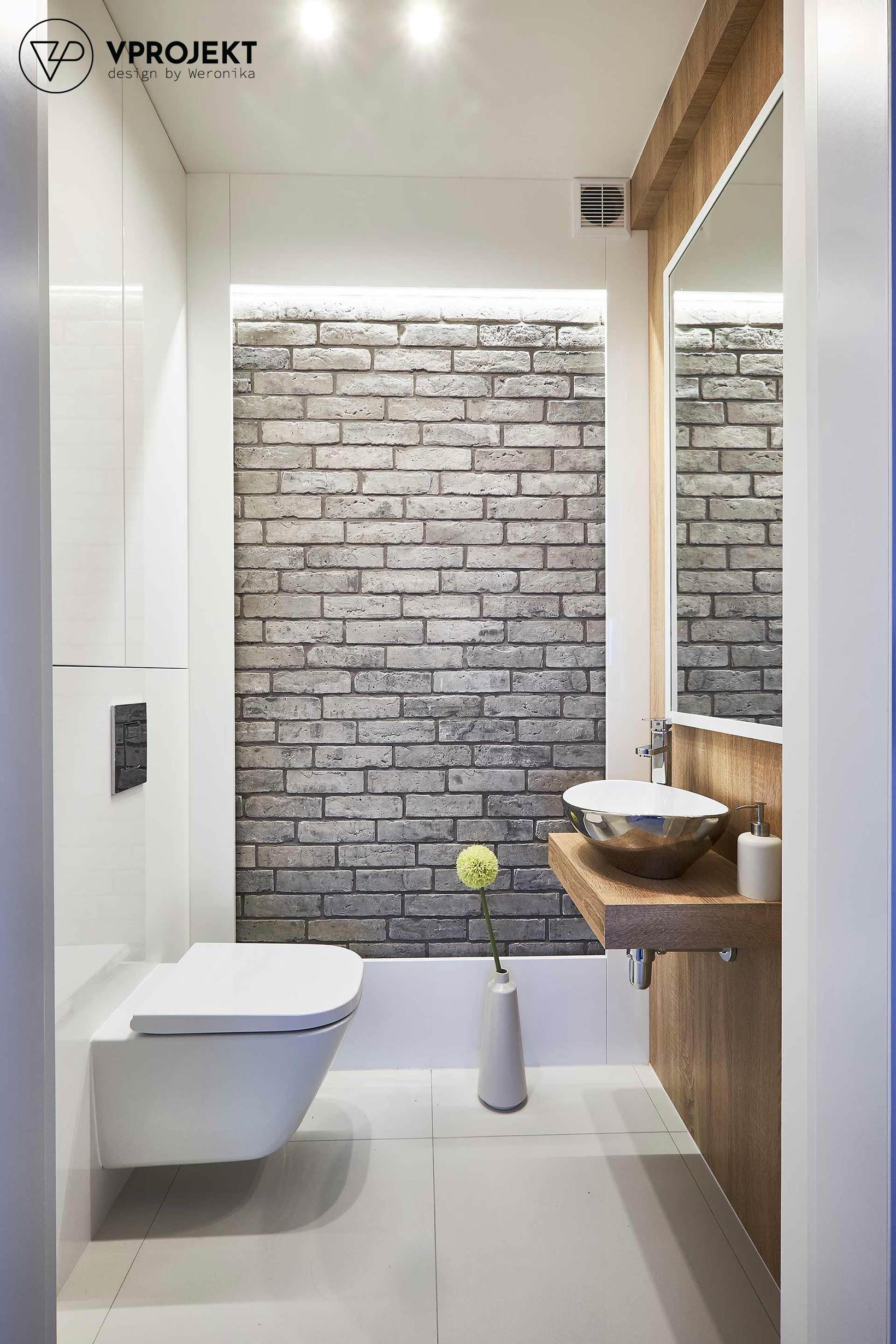 Łazienka, dom w Ostródzie