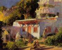 'Mosque in Algiers' by Renoir (1882)