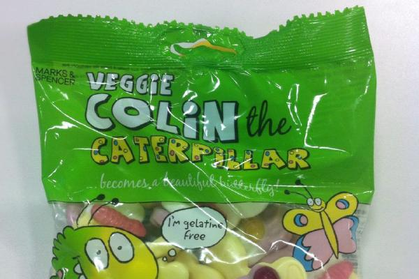 image from New Vegetarian Colin the Caterpillar Sweets!