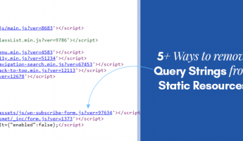 Thumbnail of 5+ Easy Ways to Remove Query Strings from Static Resources