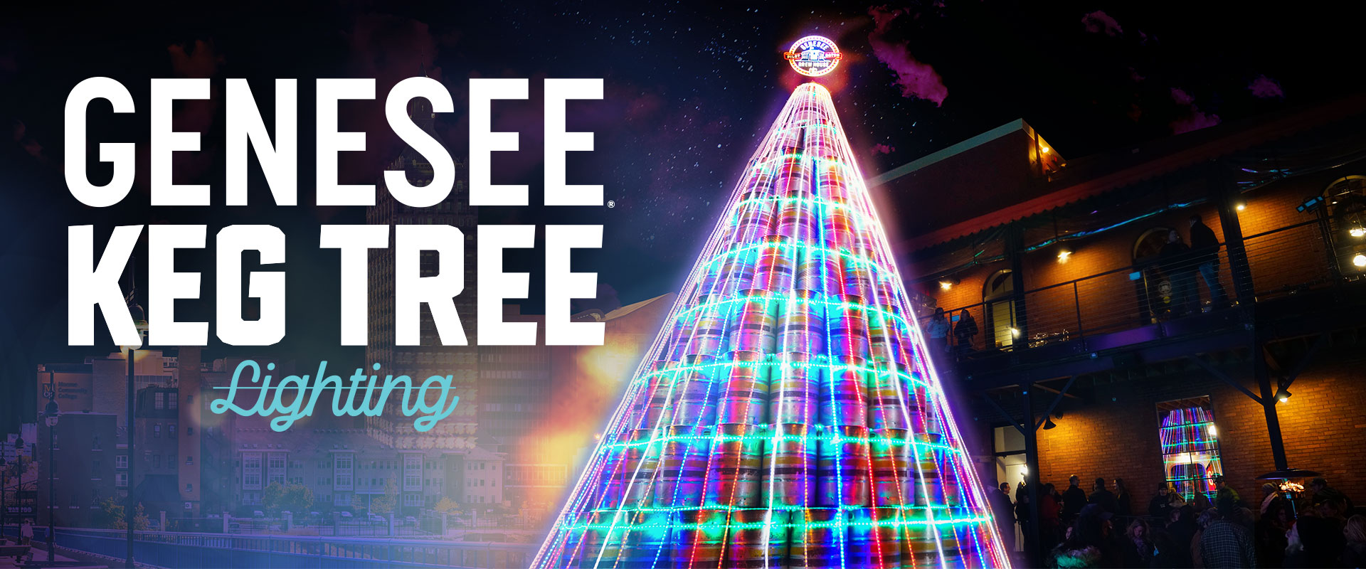 Genesee Keg Tree Lighting