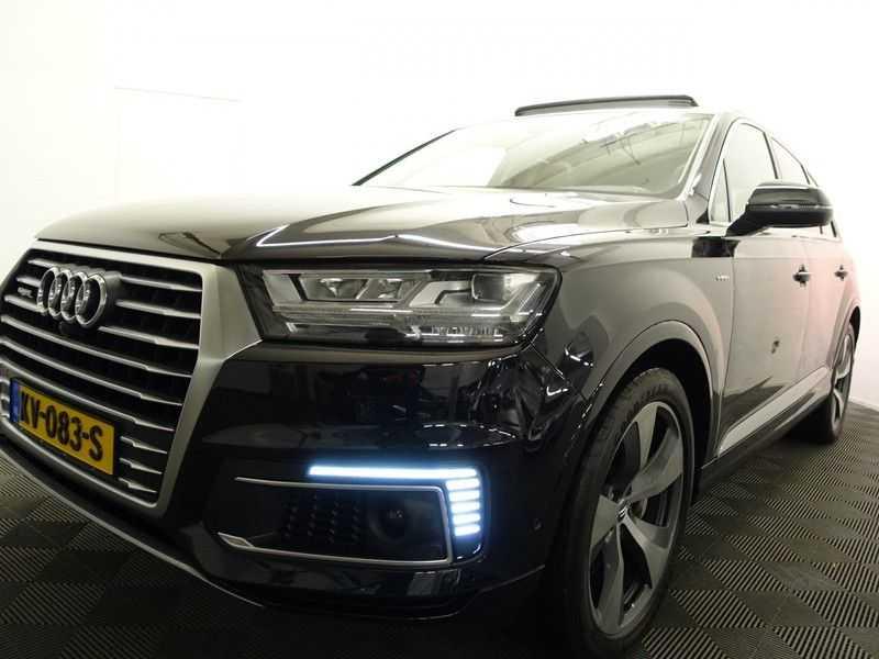 Audi Q7 3.0 TDI E-tron Quattro 374pk S-line Premium Autom- Pano, Virtual Cockpit, Bose, Leer, Camera afbeelding 25