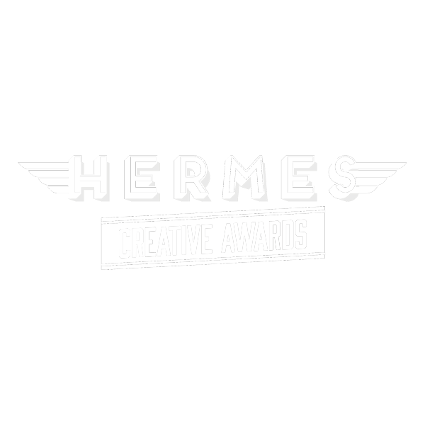 Hermes Creative Awards logo.