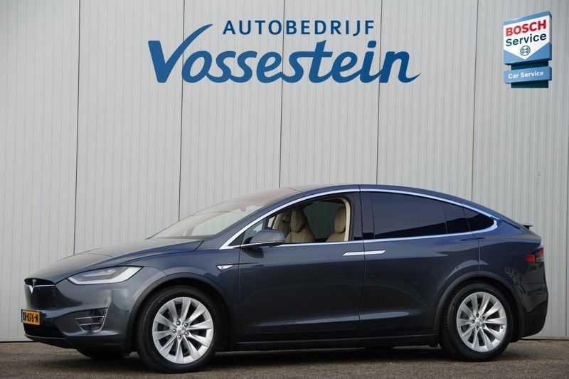 Tesla Model X 90D Base 6p. 6-Persoons / Panoramadak / Camera / Luchtvering / 112dkm NAP / NL-Auto afbeelding 1