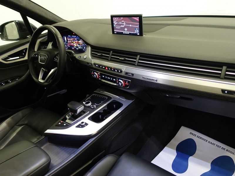 Audi Q7 3.0 TDI e-tron 374pk Quattro Sport S-Line Aut- Panodak, Bose, Leer, Camera, Virtual Cockpit afbeelding 4