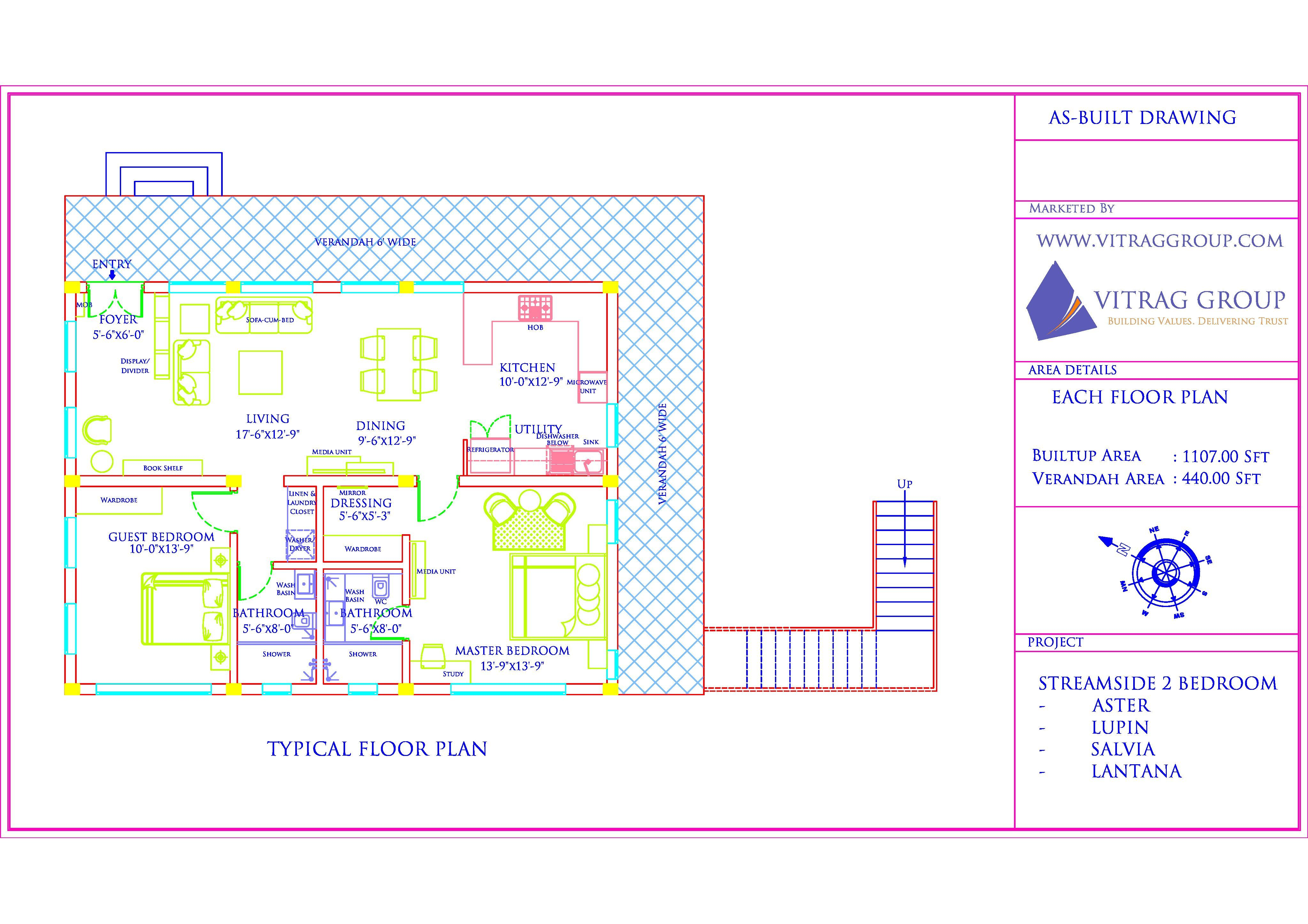 Typical Internal Floor Plan