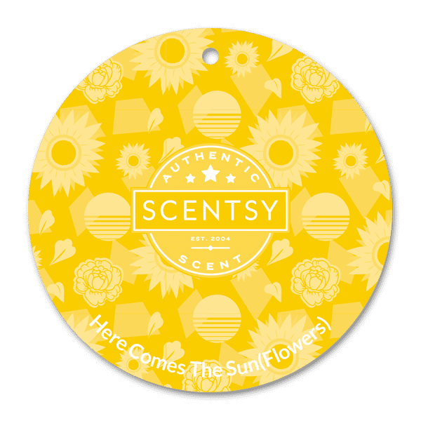 Picture of Here Comes the Sun(flowers) Scent Circle