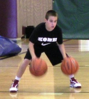 simple basketball drills