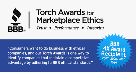 BBB Torch Awards logo