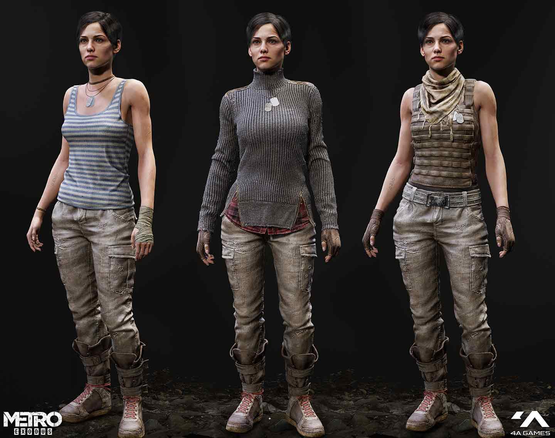 Game development character models