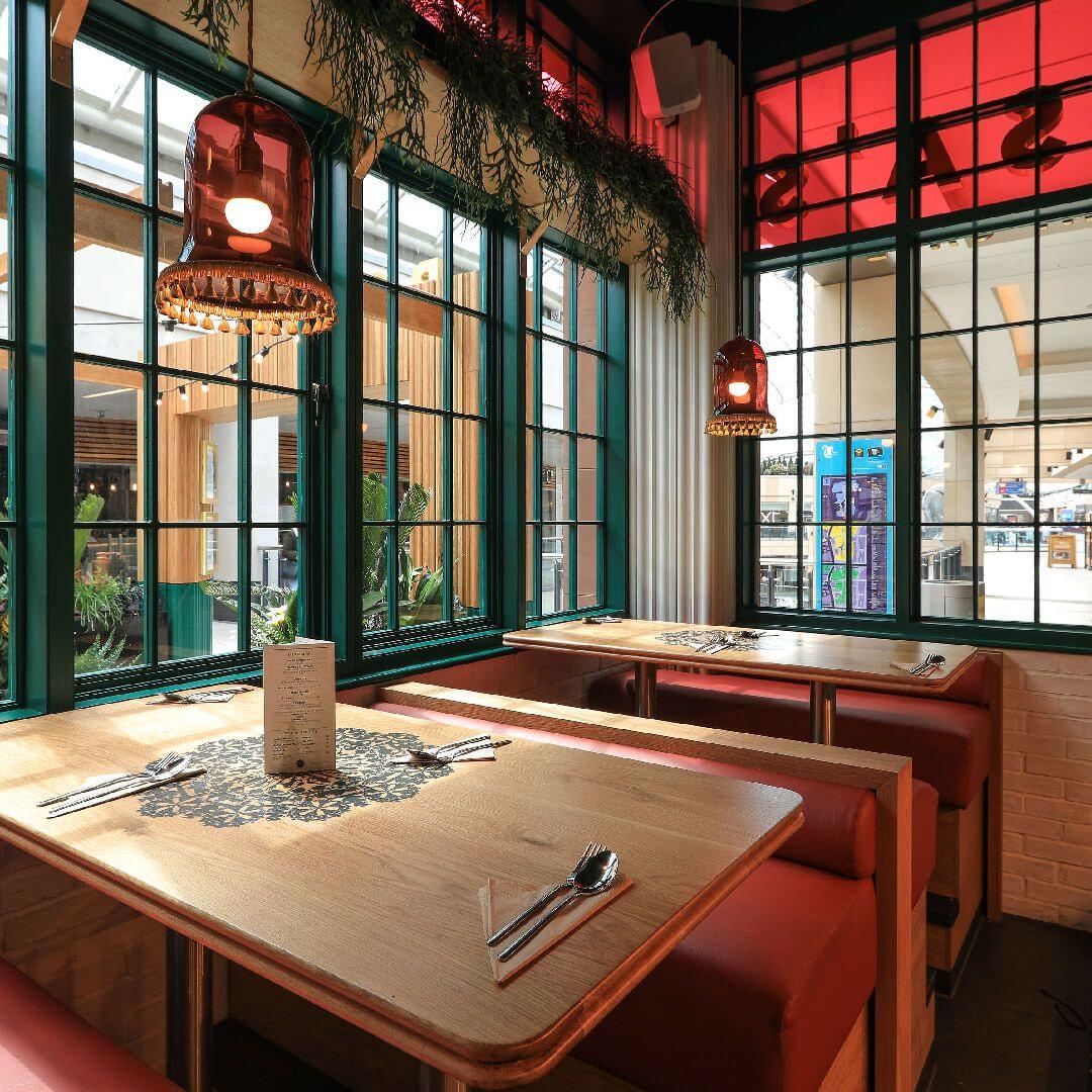 Rosa's Thai Café Leeds romantic table for two