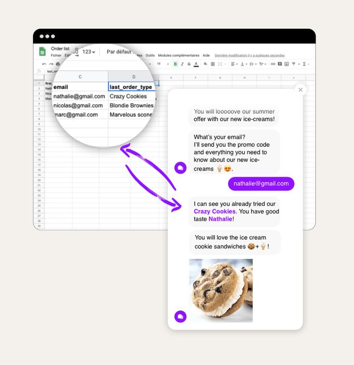 Google Sheets integration