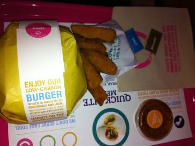 Otarian burger meal