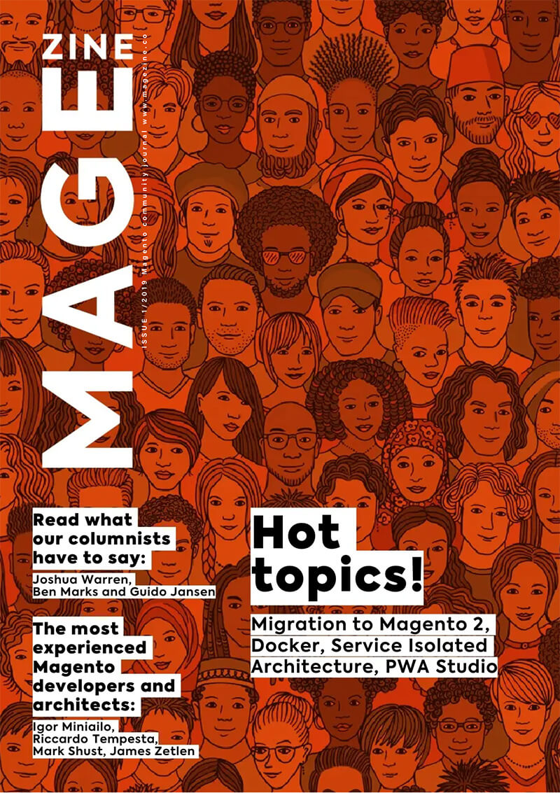 The first issue of MageZine, 2019