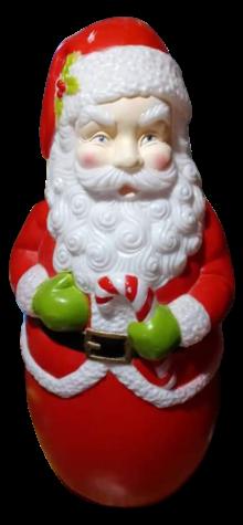 Round Santa photo