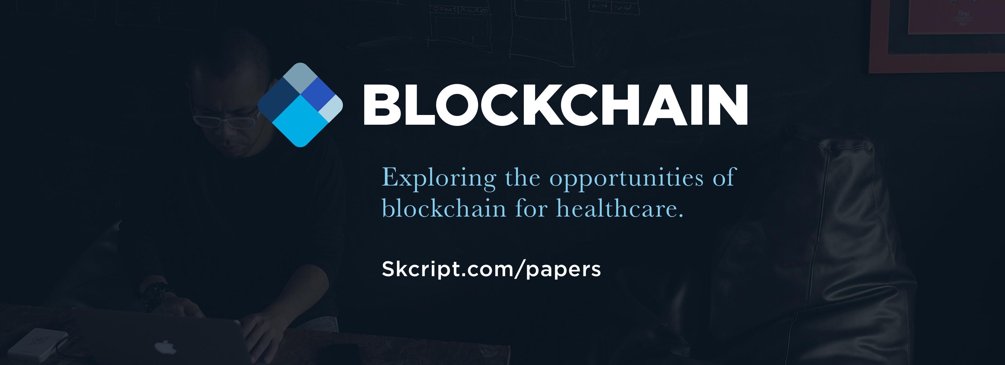 Blockchain for Healthcare White Paper