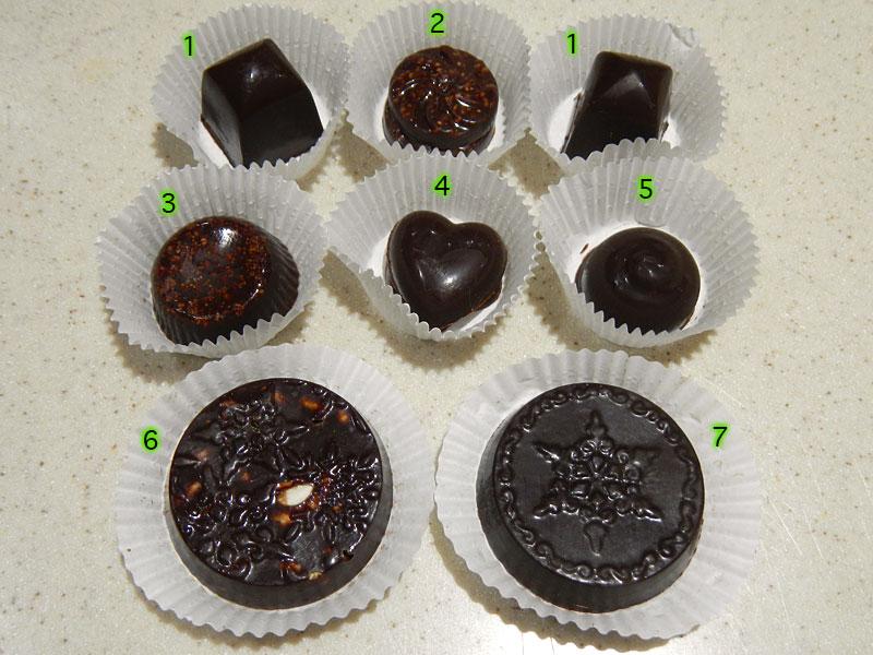 Raw Chocolate Truffle Selection