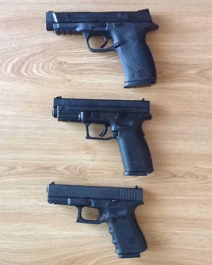 handgun comparison