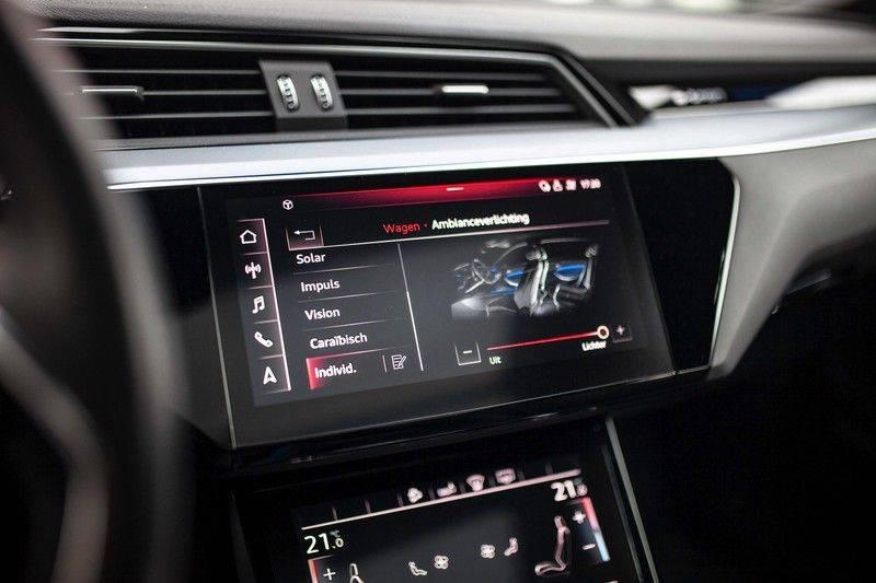 Audi e-tron 55 Quattro *4% Bijtelling / Prijs Ex. BTW / B&O / Stad & Tour pakket / Pano / ACC* afbeelding 17