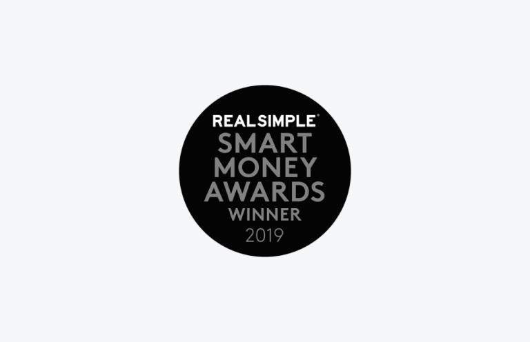 Real Simple Smart Money Awards Winner Logo