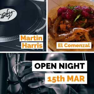 Open night tomorrow, people. Bad weather, great music, beer and food. See you there.