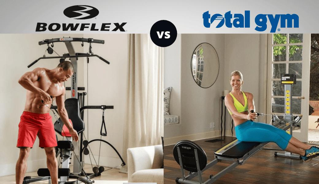 Bowflex vs. Total Gym - Cover Image