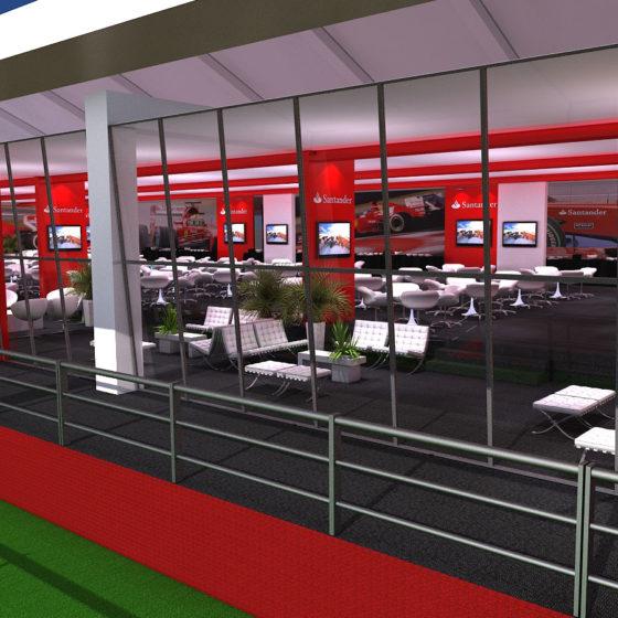 Portfolio C.Artes: Santander Formula 1