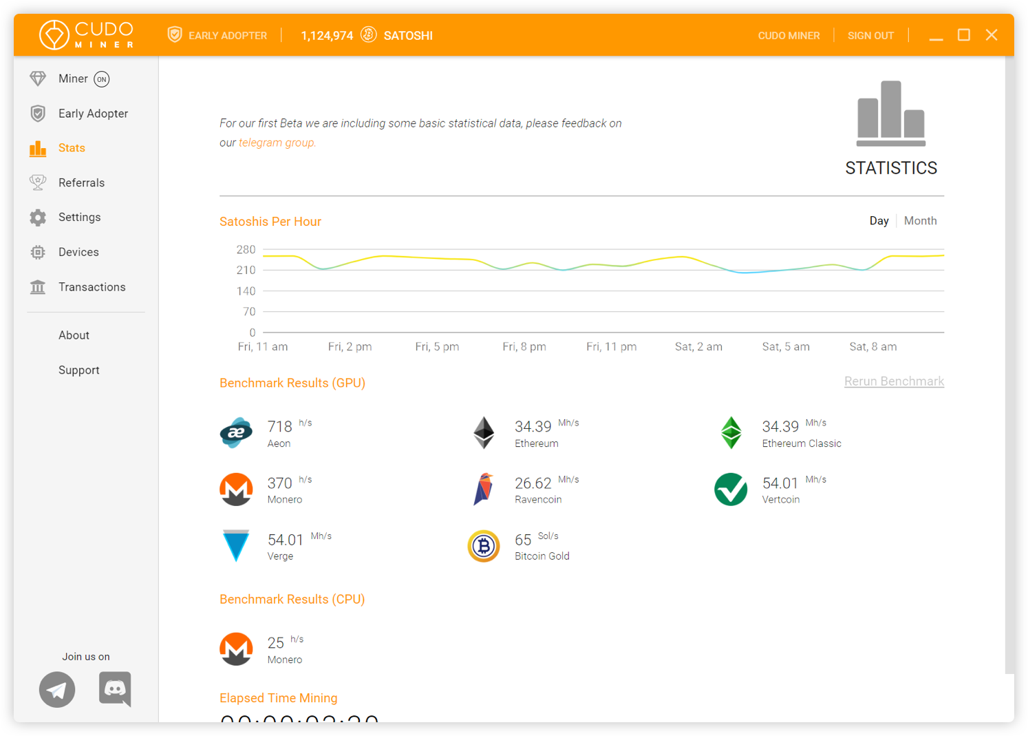 Cudo Miner | Cryptocurrency Mining Software | GUI GPU