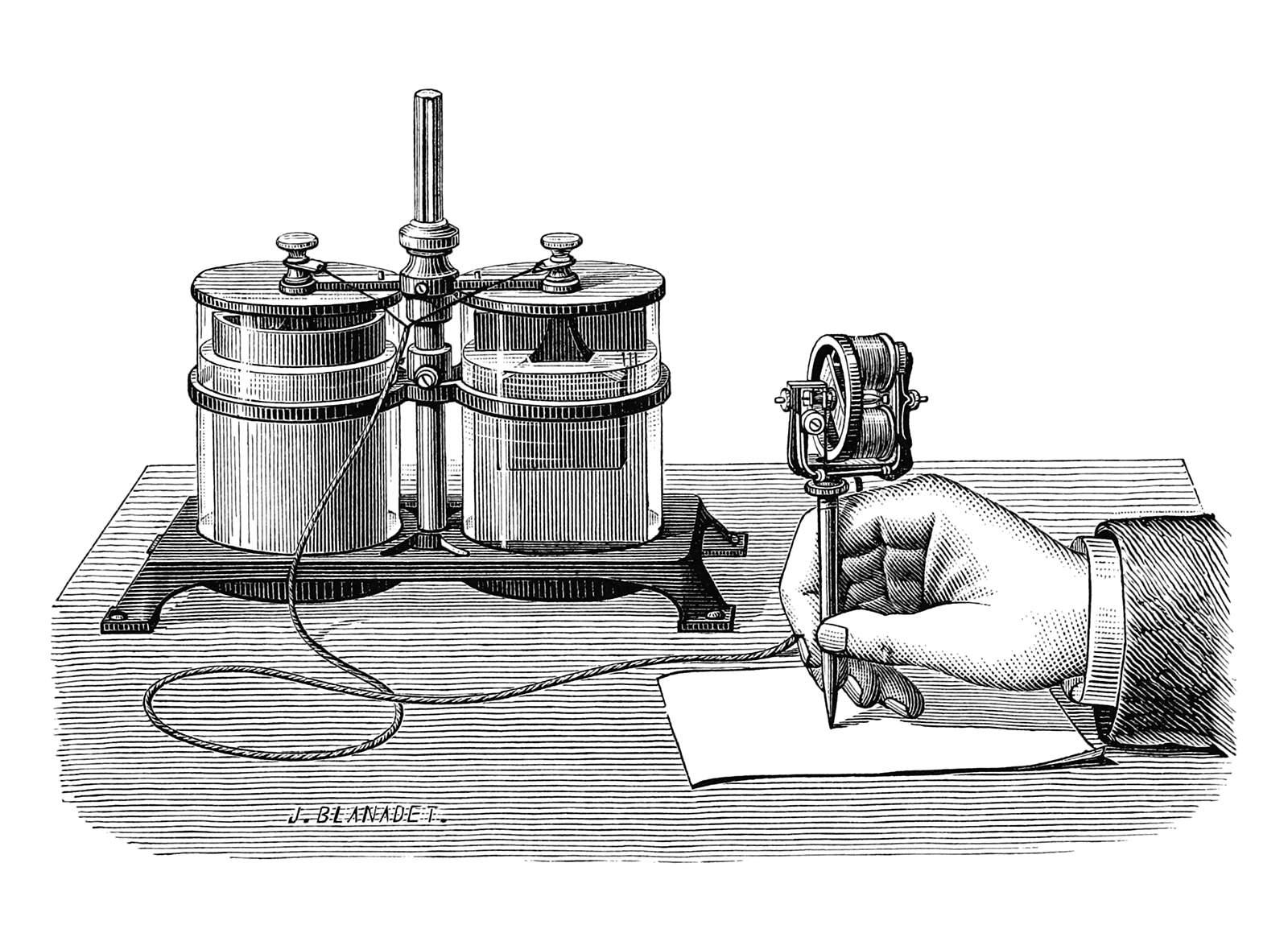 Edison's electric pen