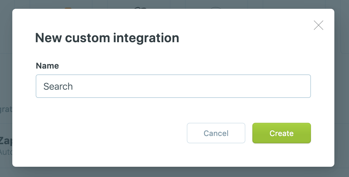 Name for the Ghost Custom integrations