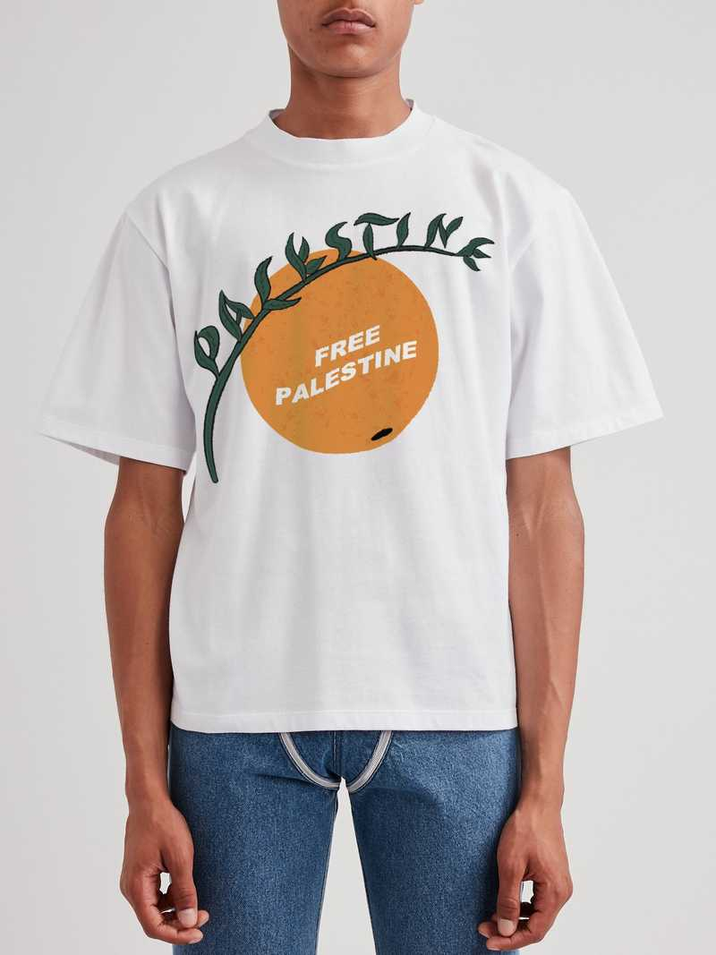 Free Palestine T-shirt charity