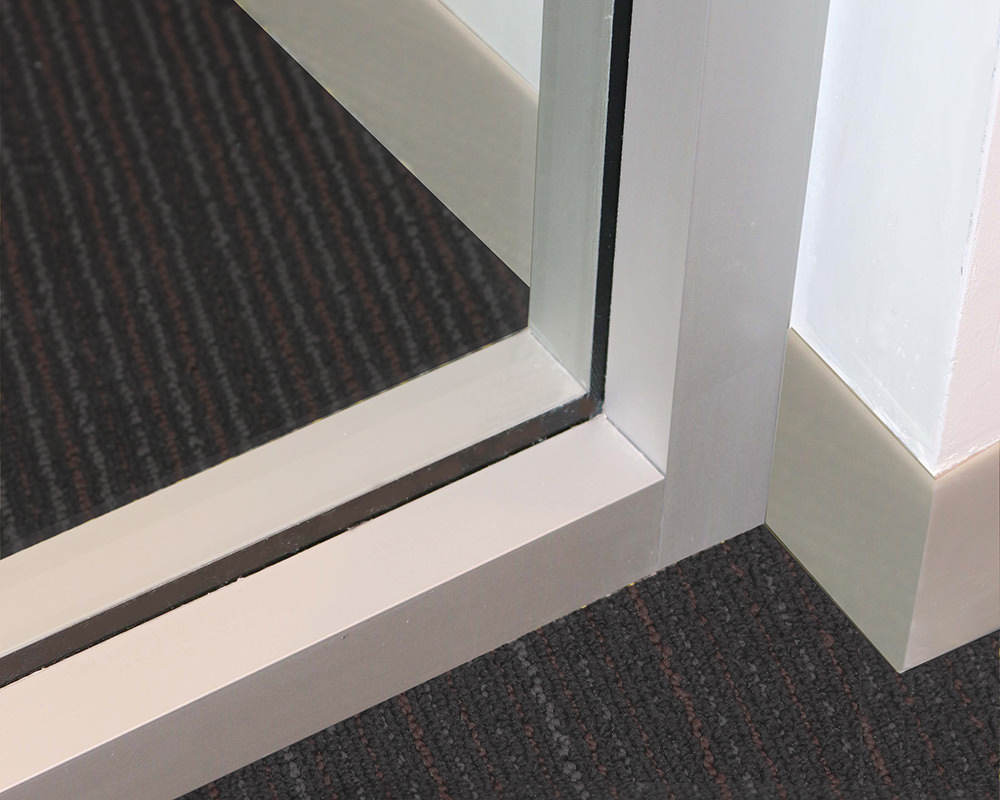 Zenith Series Glass Wall Corner Frame