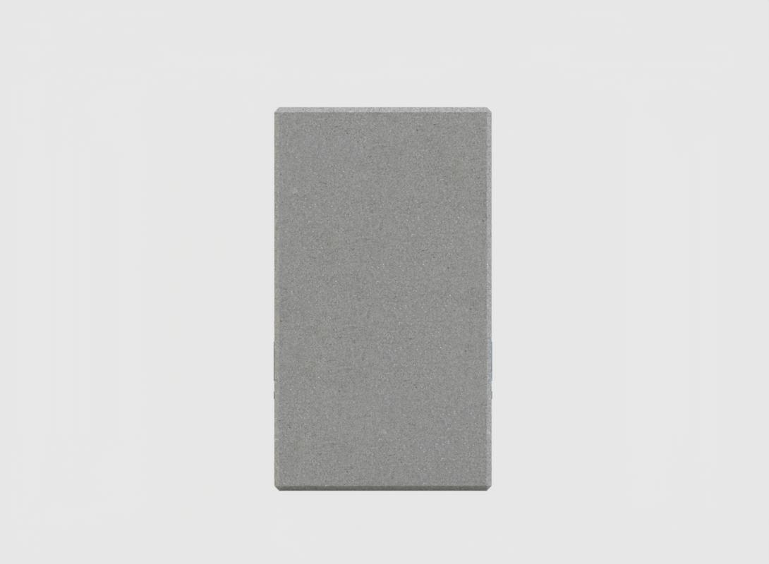 1.5m concrete barrier end