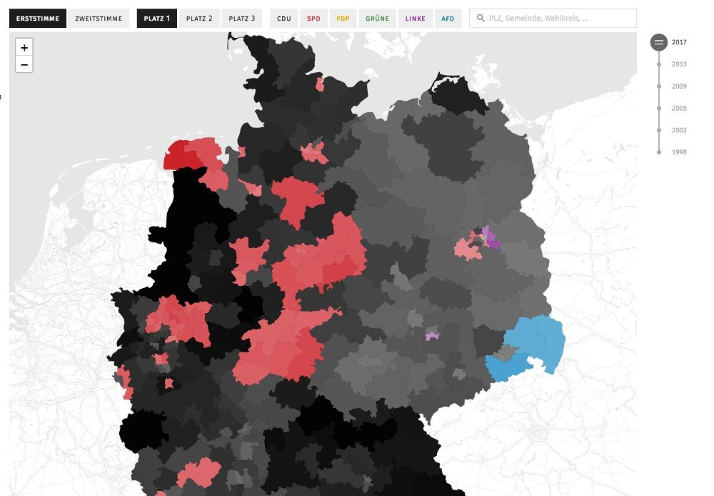 tagesspiegel election map