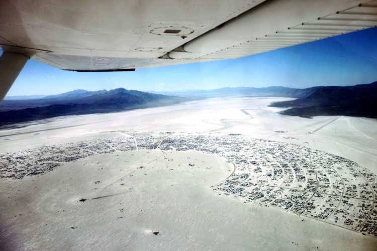Burning Man 2016 Aerial View