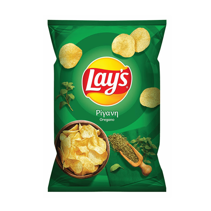 Chips with oregano - 150g