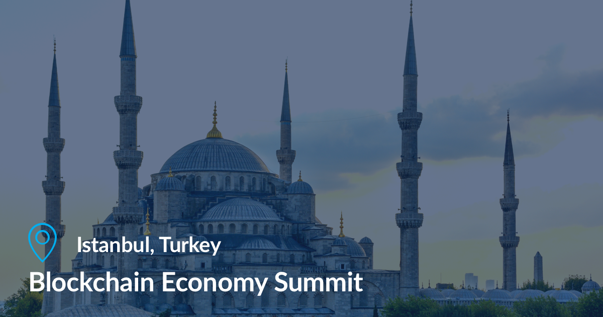 blockchain economy summit türkei