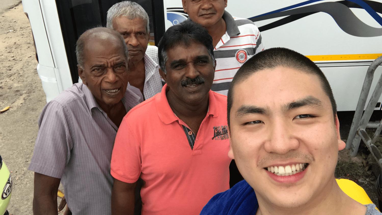around Sri Lanka with other international creatives (2016)