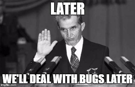 Ceaușescu's code review