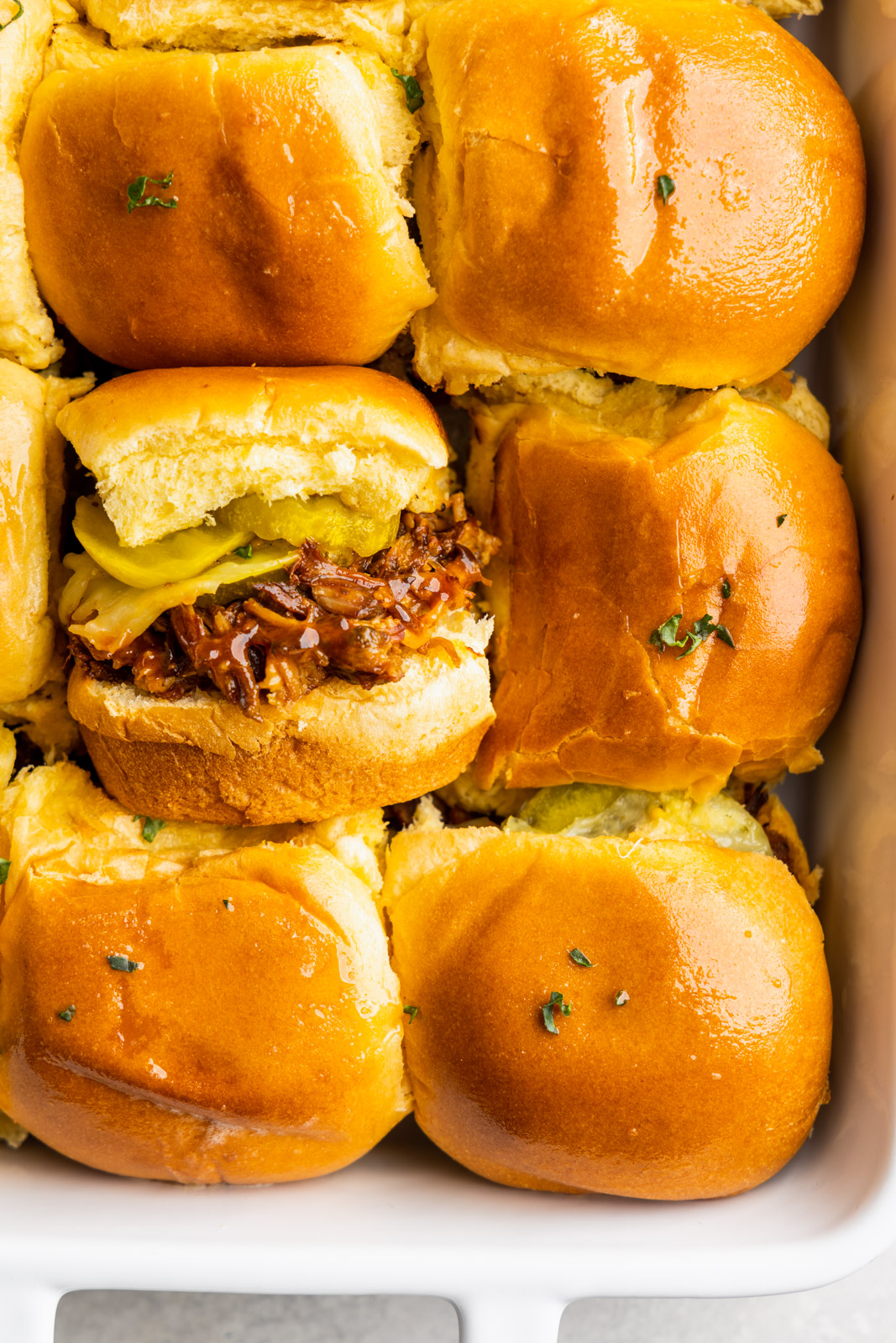 Easy Instant Pot Pulled Pork Sliders