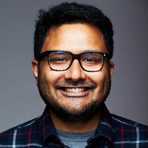 Headshot of Syam Anupom