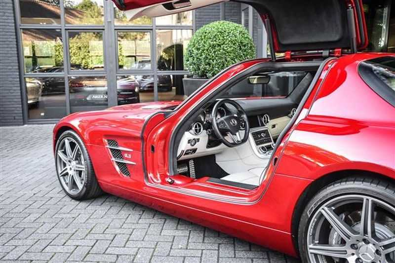 Mercedes-Benz SLS SLS AMG EXCLUSIVE DESIGNO+CAMERA (571 PK) afbeelding 19