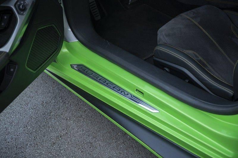 Lamborghini Huracan 5.2 V10 LP610-4 Blue Eye + Carbon Spoiler + LIFTING + Achteruitrijcamera afbeelding 12