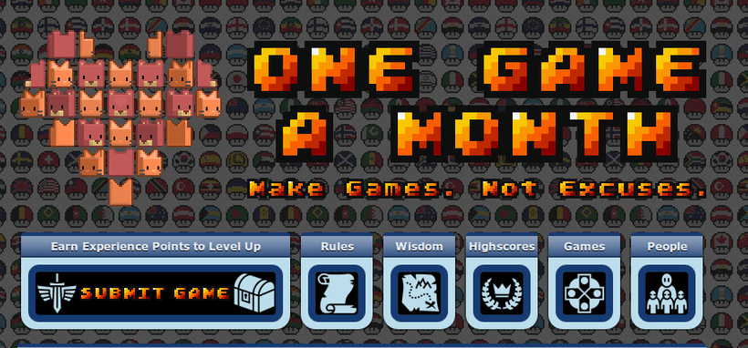 OneGameAMonth