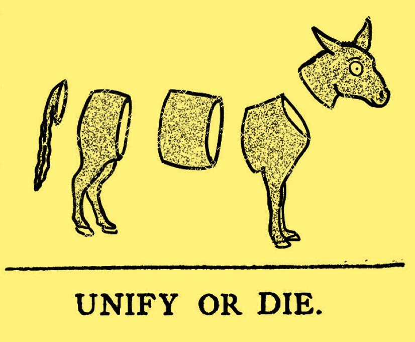 Unify or Die