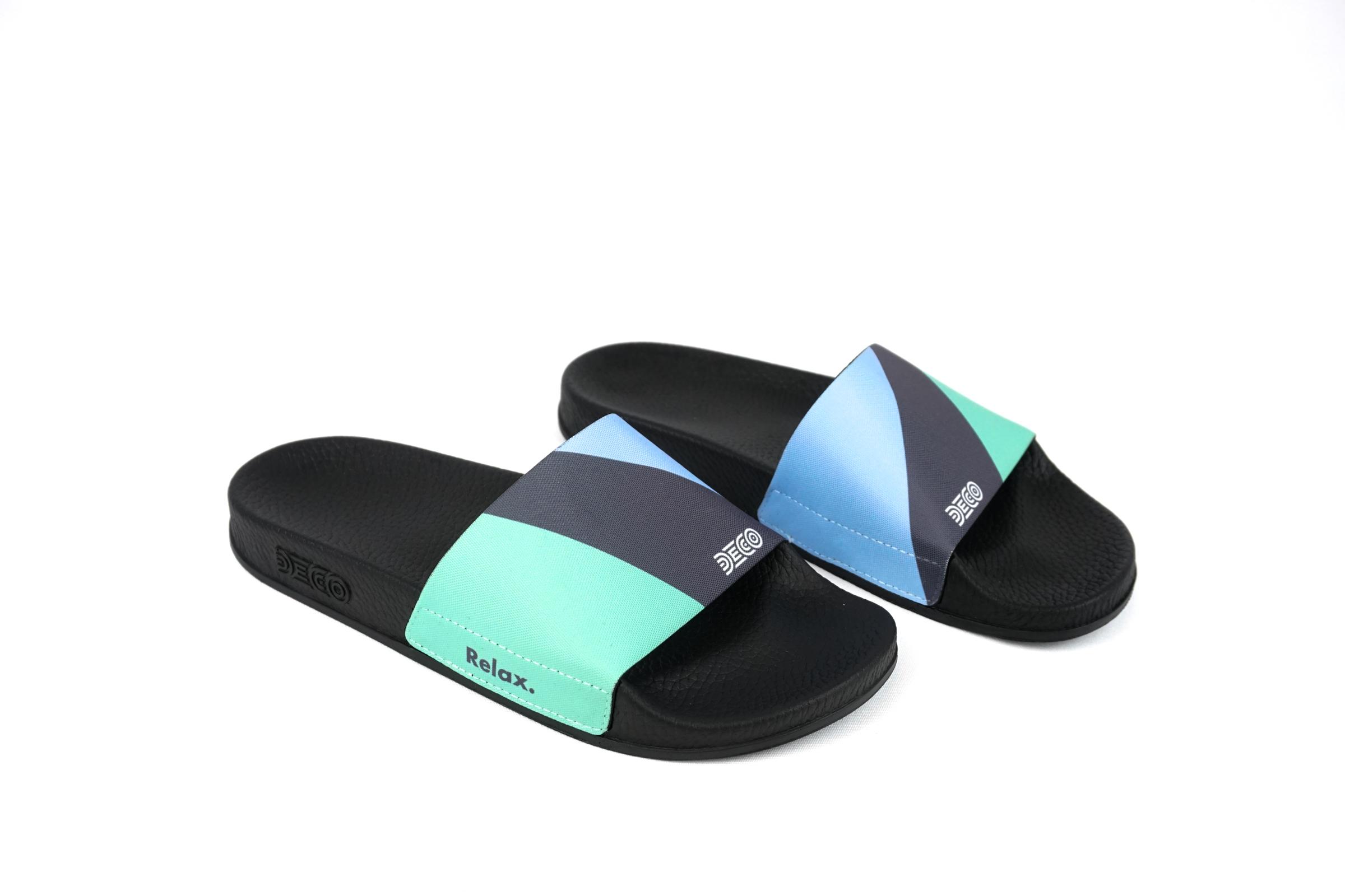 Grey Blue Green Slide