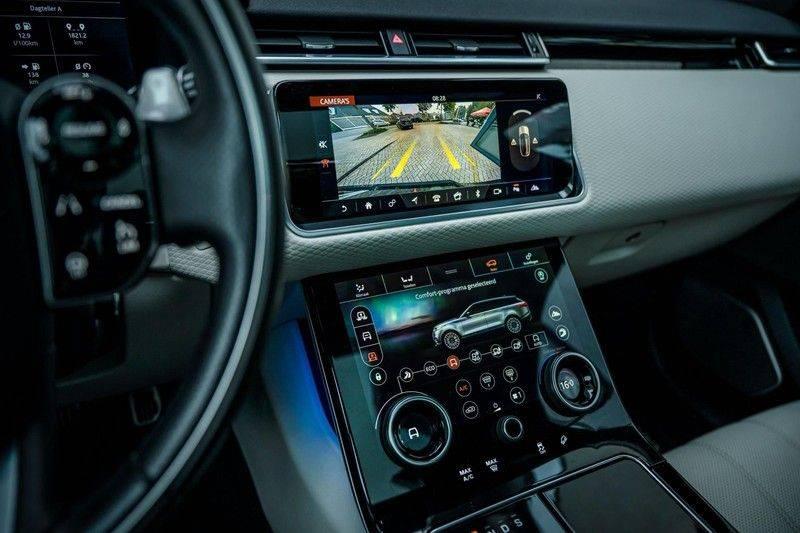 Land Rover Range Rover Velar 3.0 V6 SC AWD R-Dynamic HSE, 380 PK, Head/Up, Black/Optic, Adapt. Cruise, Pano/Dak, Luchtvering!! afbeelding 14