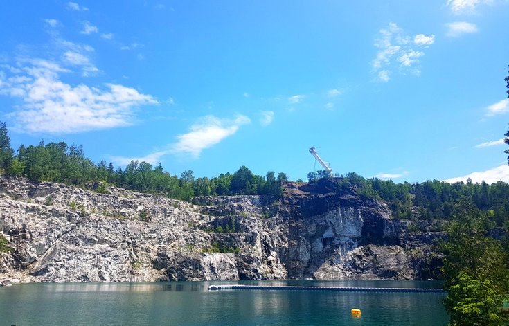 Morrison's Quarry in Quebec