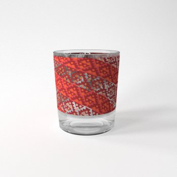 mockup vaso rojo