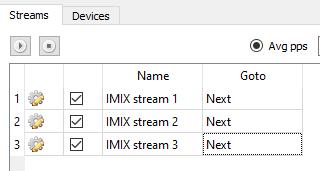 IMIX renamed streams